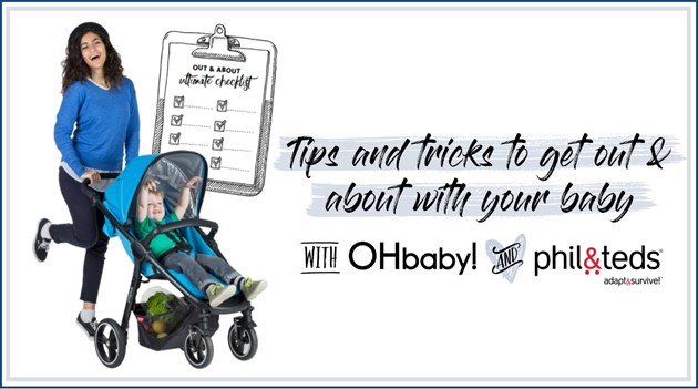 Tips & tricks for getting out & about with your baby