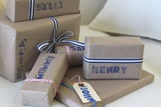 How to: personalise your gifts with stamps