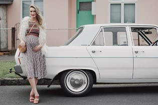 Maternity fashion: the stunning style of yesteryear