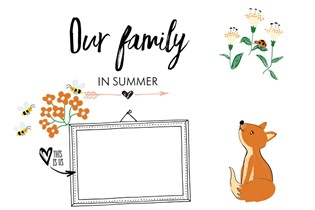 FREE Printable: This is our family this summer