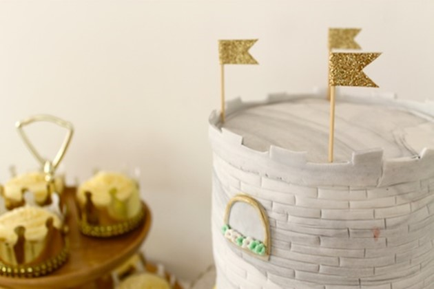Castle Tower Cake Directions