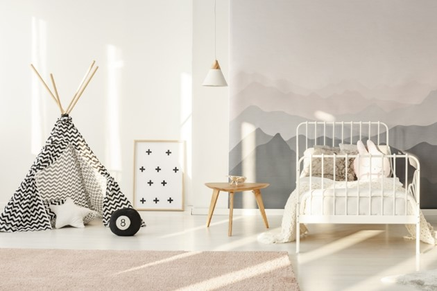 Kids' rooms designed to last