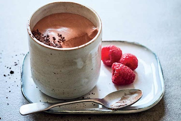 Low carb, healthy fat, Chocolate mousse from WTF? Recipes