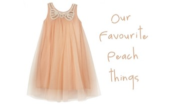 Favourite Peach things