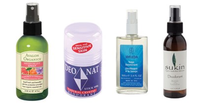Natural deodorants you can trust