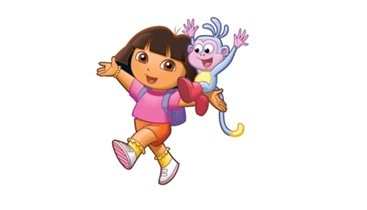Dora The Explorer reigns supreme
