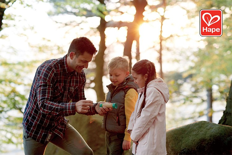 Bring your kids back down to earth with Hape's Nature Fun toy range