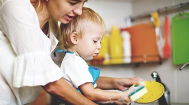 How to: get your toddler to help with chores