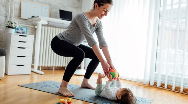 Exercises your kids can actually help you with!
