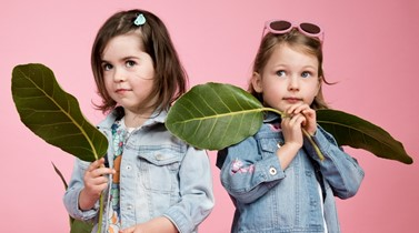 Turn over a new leaf: fresh kids fashion for spring