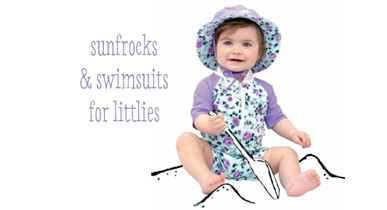Sunfrocks & swimsuits for littlies