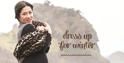 Maternity fashion: Dress up for winter