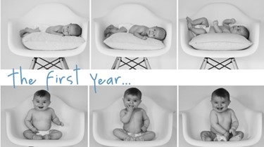 GALLERY: Baby's first year in photo's - month by month