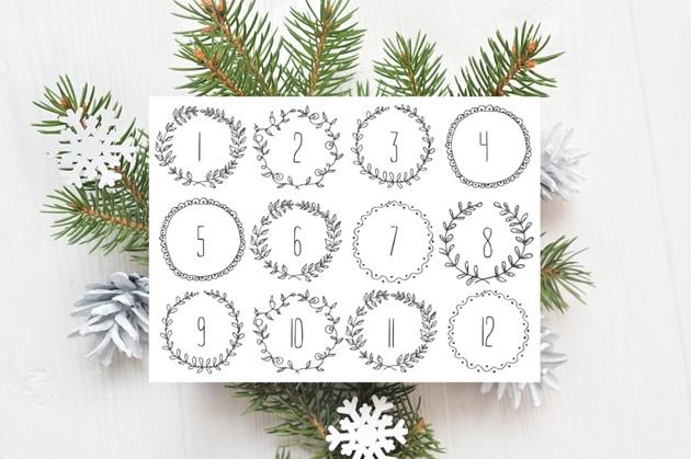 Advent Calendar Printables