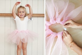 Make your own no-sew tutu