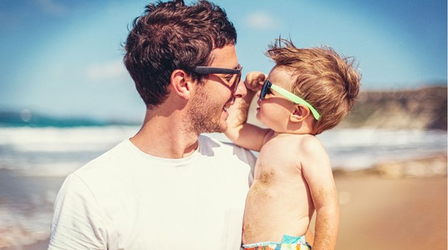 Cheap sunglasses are better than nothing for kids