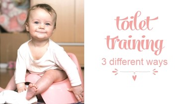 Toilet Training - 3 Different Ways