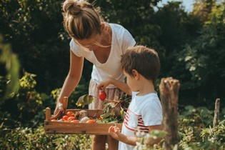 What I learned abut parenting from organic gardening