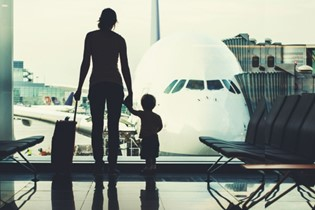 How to make travelling with a toddler work