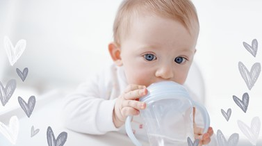 How much should kids drink? Lifting the lid on sippy cups