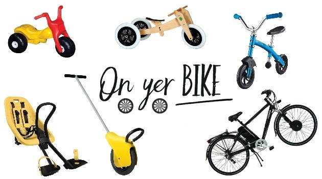 Pedal power: a bike for every age and stage