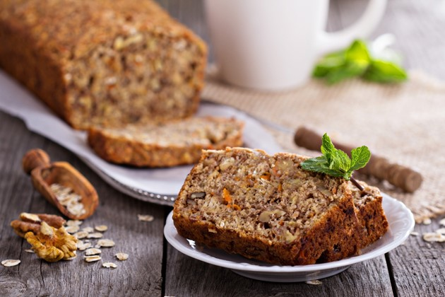 Sugar-Free and Gluten-Free Carrot Cake