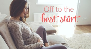How to get your pregnancy off to the best start