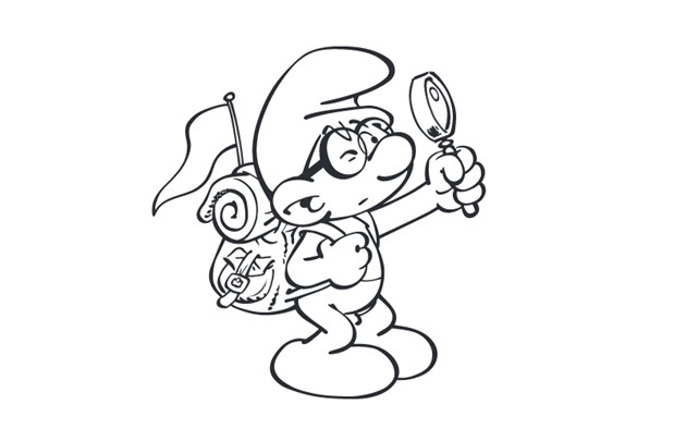 Smurfs The Lost Village Downloadable Colouring In Pages