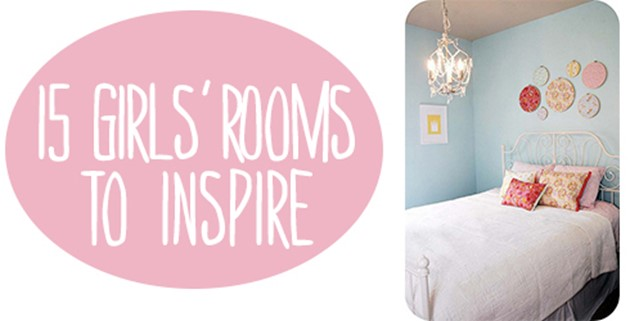 15 girls' rooms to inspire