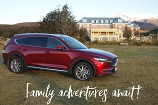 Road tripping with the new MAZDA CX-8